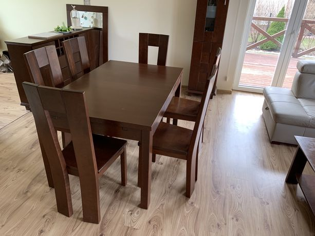 Komplet mebli do salonu, pokoju meble pokojowe drewniane