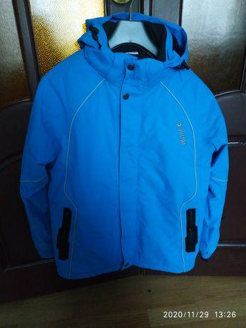 Термокуртка демосезонная лыжная куртка 164 см