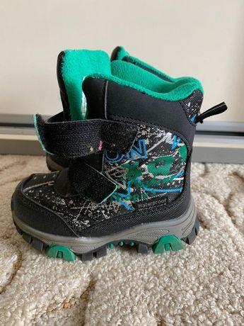 Зимние ботинки для мальчика на овчине. Как НОВЫЕ!