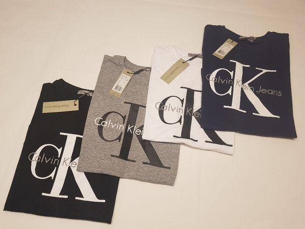 Koszulki Damskie Calvin Klein T-Shirt ! Wyprzedaż ! XS S M L XL !