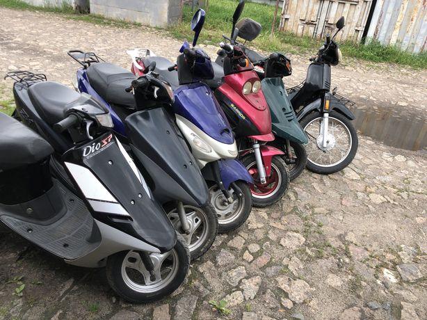Мопед скутер хонда дио ямаха джок вайпер актив спарк мотоцикл xonda 34