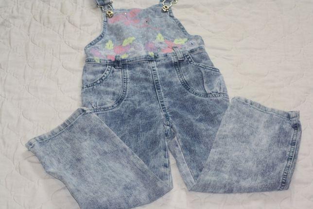 Летний джинсовый комбинезон Next Zara H&M джинсы