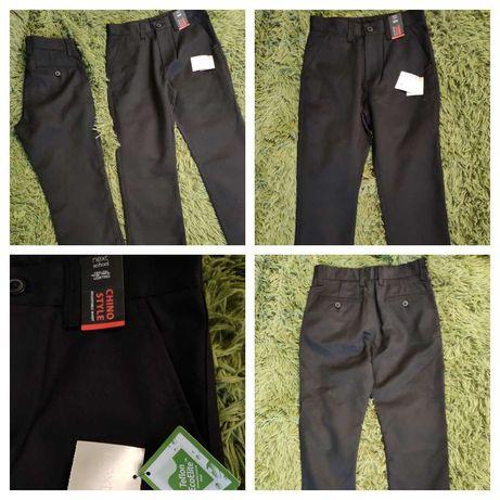 Школьные брюки- чинос Некст.134 размер, 9 лет