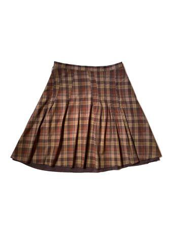 Хлопковая юбка в клетку Etam, XXL