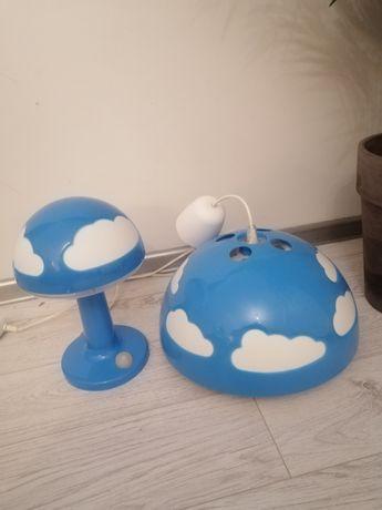 Lampa dziecięca wisząca i stojąca Ikea