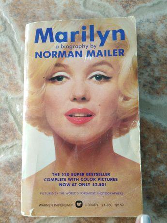 Książka z 1975 r Marilyn  Norman Mailer
