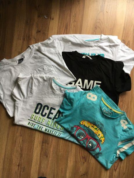 koszulki - pakiet - 146cm