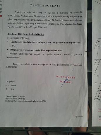Działka budowlano-usługowa Racibórz