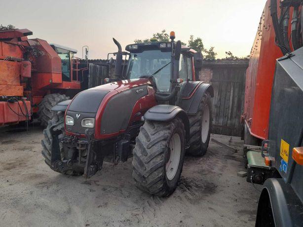 VALTRA T191, pneumatyka, amortyzacja osi i kabiny