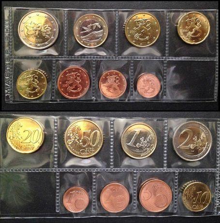 Sets de Euro, completos - Finlândia, Itália, Letónia, Chipre, Espanha