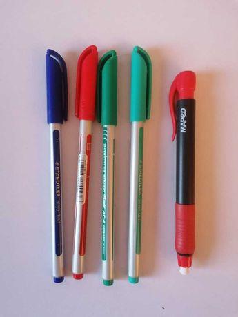 Conjunto canetas novo staedtler oferta borracha maped portes incluidos