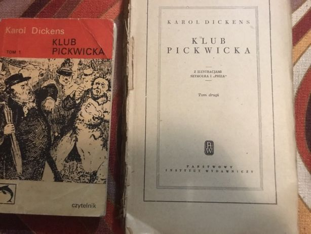 Karol Dickens - Klub Pickwika