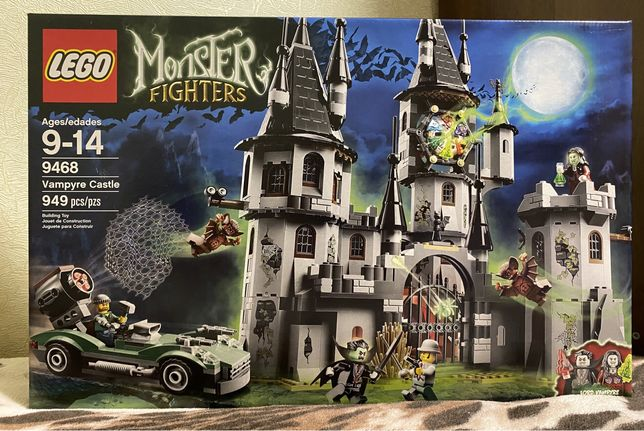 LEGO Monster Fighters Замок вампиров 9468