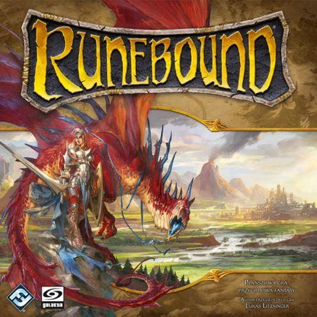 Gra planszowa przygodowa RUNEBOUND 3 edycja , lepsze niż magia i miecz
