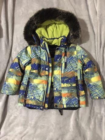 Продаю детский зимний комплект(куртка+комбинезон)