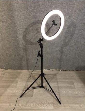 ТОП!!! Кольцевая LED лампа 33 см + Штатив 2м. + Держатель На подарок С