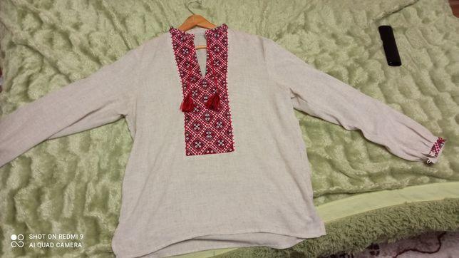 Продам новую рубашку украинскую вышиванку!