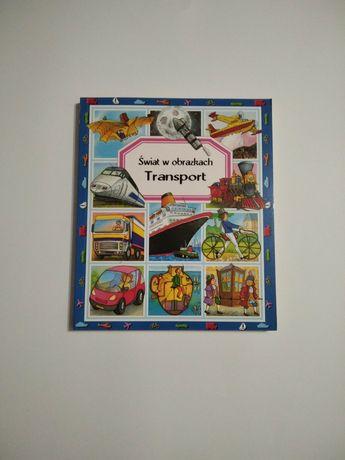 Transport NOWA Świat w obrazkach książka dla chłopców samochody G40