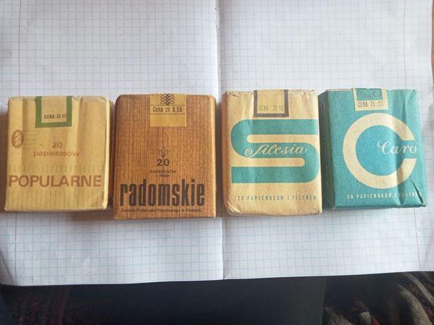 Stare pudełka z okresu PRL. Kolekcjonerskie pudełeczka opakowania PRLu