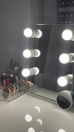 Espelho de maquilhagem profissional individual
