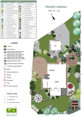 Projekt Ogrodu Nawierzchni Projektowanie ogrodów Projekty Ogrody