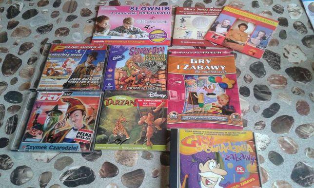 Zestaw gier, bajek i zabaw komputerowych dla dzieci