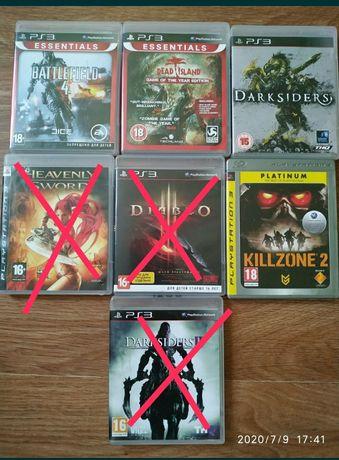 Продам диски на PS 3 игры.