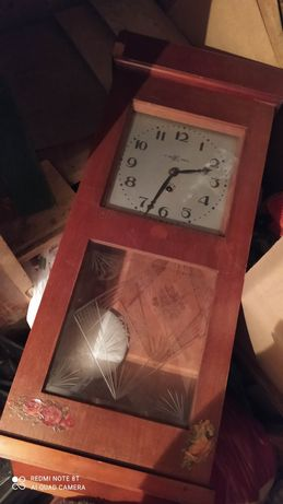 Часы СССР настенные