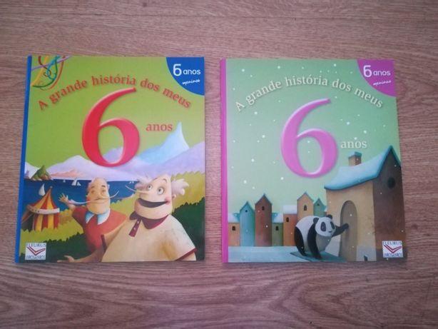 """Livros """"A grande história dos meus 6 anos"""" - Novos"""
