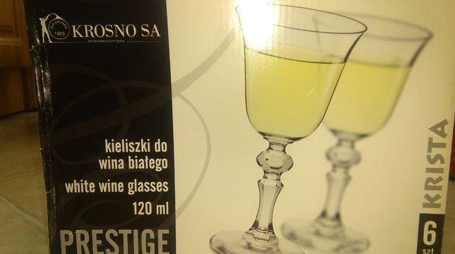 Kieliszki do białego wina/Prestige/Krosno-NOWE