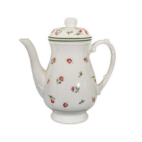 Serviço de chá em faiança San Claudio Flores e Frutas