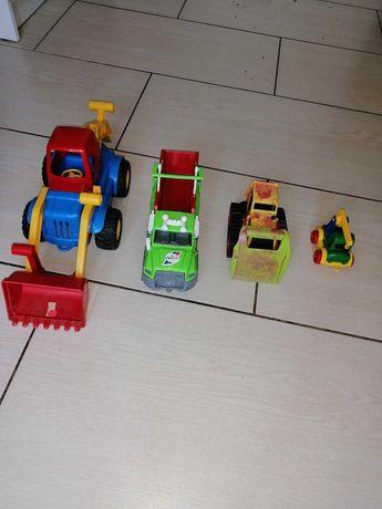 Іграшки одним лотом. Екскаватор. Вантажівка.