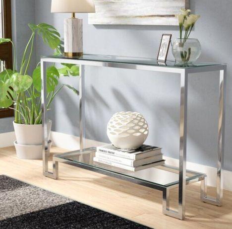 Стол консоль дизайнерская мебель для гостинной прихожей туалетный стол