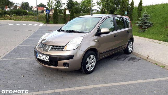 Nissan Note 1.4 benz. 88 KM Polski Salon / Pierwszy właściciel