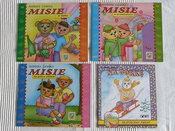 Zestaw książeczek Misie, Scooby Doo, Adibu, Kubuś Puchatek
