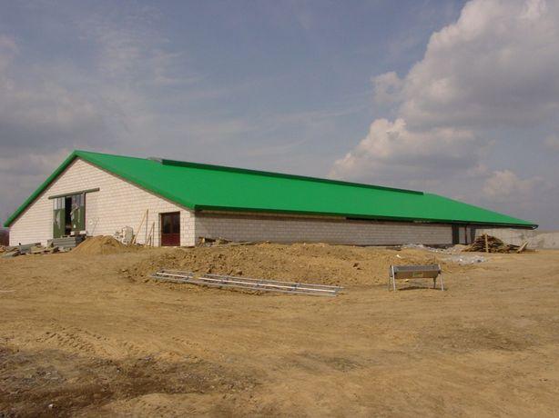Usługi budowlane, domy, obory, hale, garaże, silosy, szamba,fundamenty