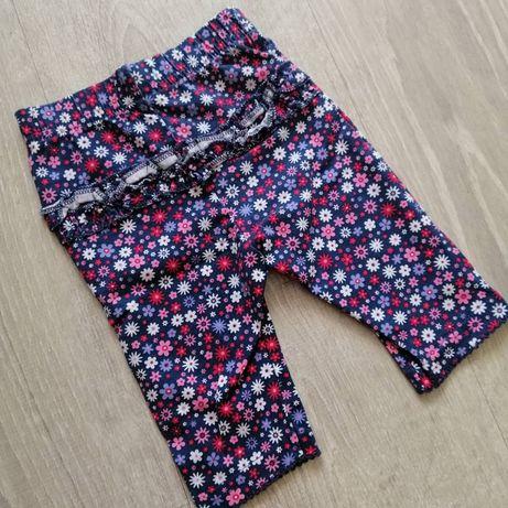 Новые тонкие леггинсы лосины штаны бриджи George H&M Zara next 56/62р