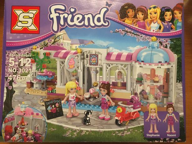 Klocki Friend Cukiernia klocki LEGO 476 el