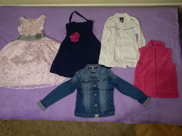 Sprzedam komplet ubrań dla dziewczynki rozm 146