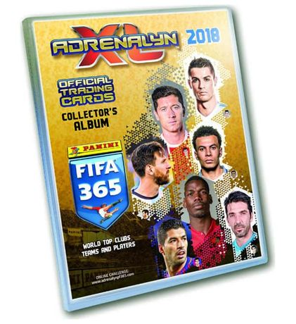 Karty Panini FIFA 365 Adrenalyn XL 2018