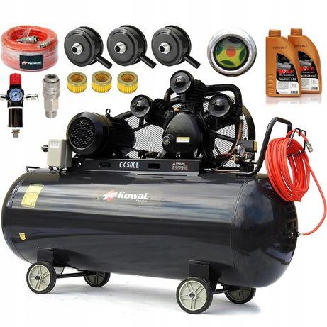 KOMPRESOR K16 500L olejowy sprężarka powietrza 3F
