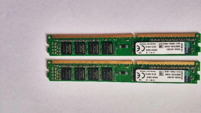 Pamięć Kingston ValueRAM, DDR3, 2x4 GB, 1600MHz, CL11 (KVR16N11S8K2/4)