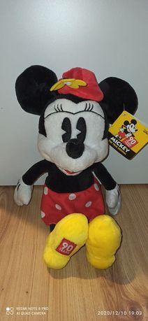 Myszka Miki Minnie duża 35 cm oryginalna