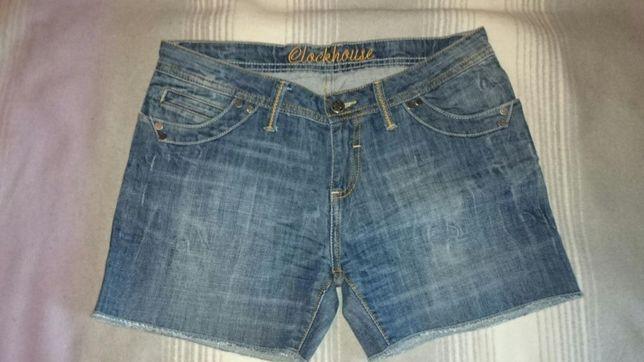 Nowe spodenki jeansowe Clockhouse