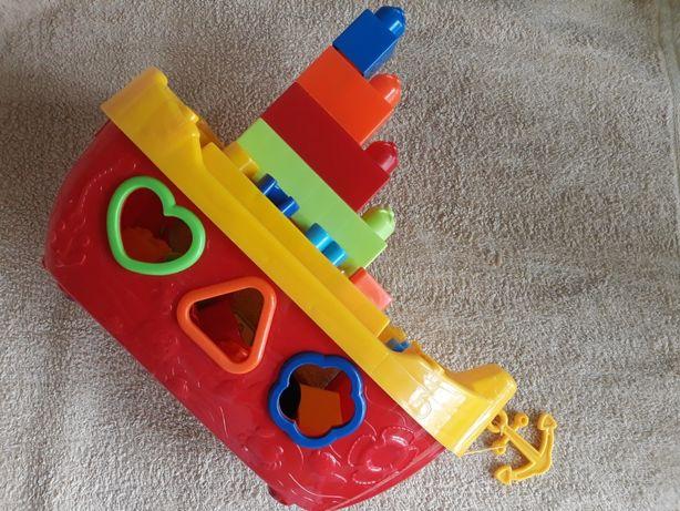 Корабль сортер для малыша
