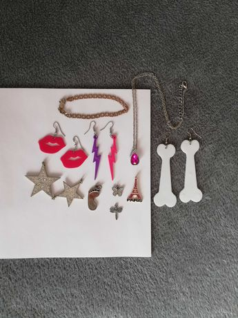 Zestaw biżuterii dla młodzieży i nastolatków (10szt.)