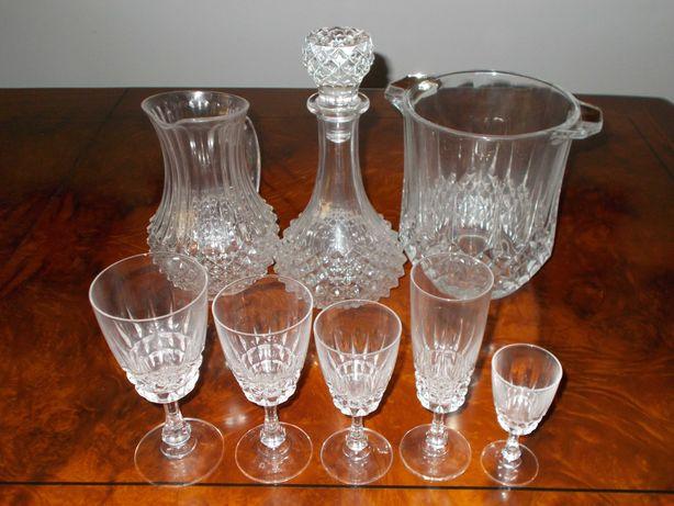 Serviço de copos em cristal