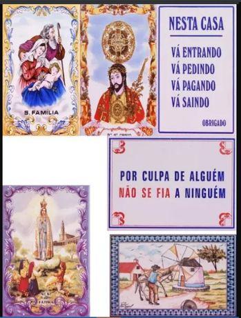 Azulejos 20x15CM Tradicional Por culpa de alguém Fia Anjinho da Guarda