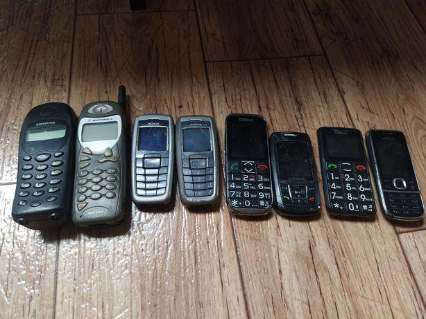 Stare zabytkowe telefony komórkowe prl antyk