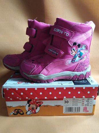 Buty zimowe dziewczęce Myszka Minnie roz. 30